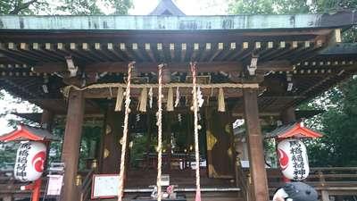 馬橋稲荷神社の本殿