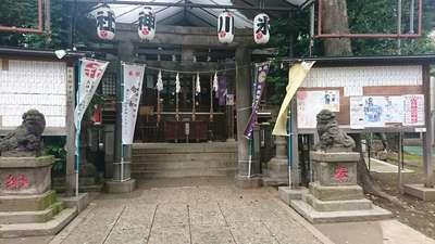 東京都幡ヶ谷氷川神社の写真