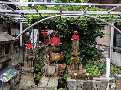 誓安寺の地蔵