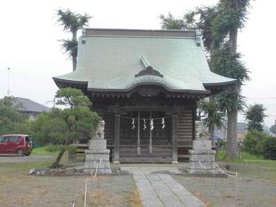 神奈川県三島神社の本殿