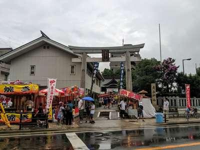 産土神社のお祭り