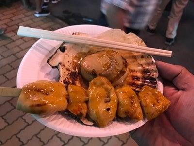 鳥屋神社の食事