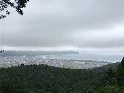 零羊崎神社の景色
