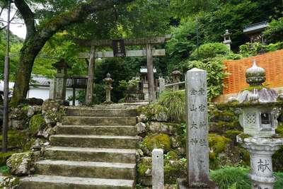 岐阜県伊奈波神社の鳥居