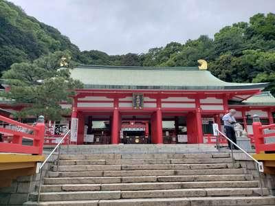 山口県赤間神宮の本殿