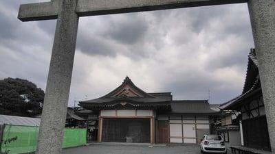京都府北野天満宮御旅所(神輿岡神社)の写真