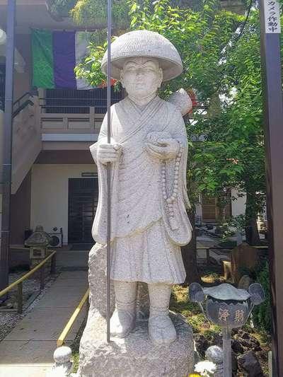 寳樹院の像