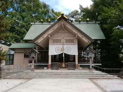 北海道白石神社の本殿