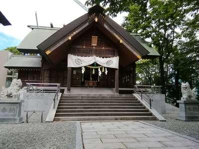 北海道信濃神社の本殿