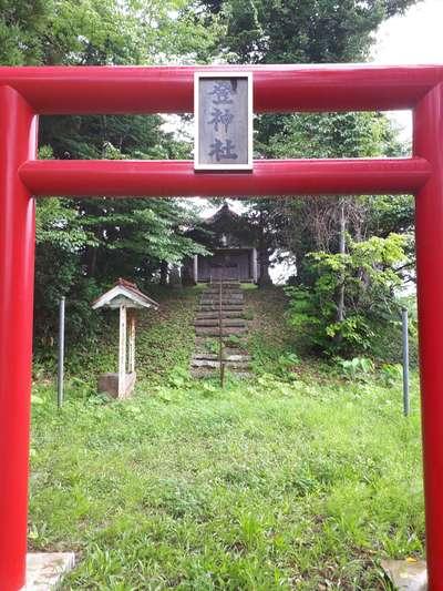 登神社の鳥居