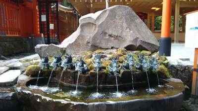 九頭龍神社(本宮)の手水