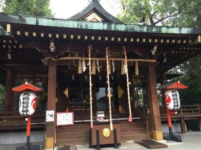 東京都馬橋稲荷神社の本殿