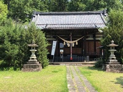 甲斐総社八幡神社の本殿