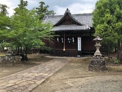 柴宮神社の本殿