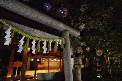 埼玉県川越氷川神社の鳥居