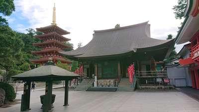 金剛寺(高幡不動尊)の本殿