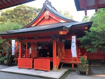 鹿児島県枚聞神社の本殿