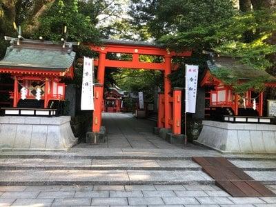 枚聞神社の鳥居