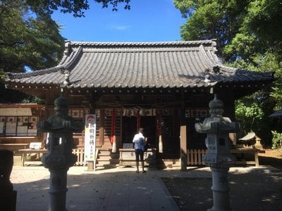 千葉県大宮・大原神社の本殿