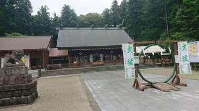 栃木県乃木神社の本殿