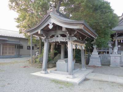 岡崎神社の手水