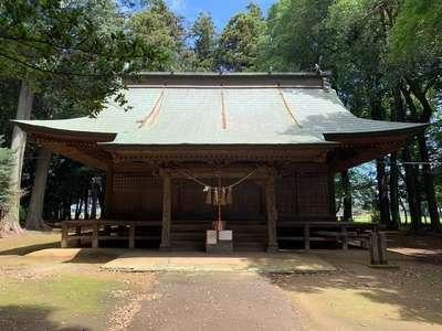 東蕗田天満社の本殿
