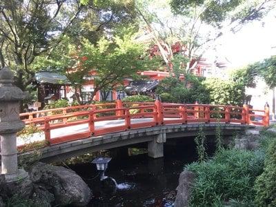 千葉神社の庭園