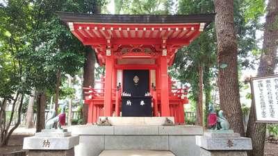 山王稲穂神社の末社