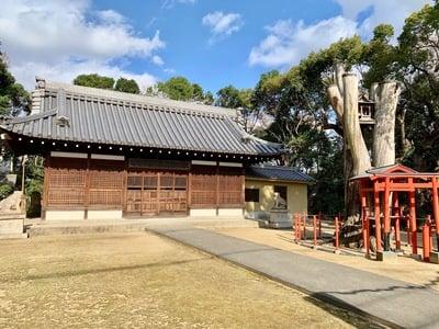 大阪府中臣須牟地神社の本殿
