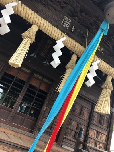 赤塚諏訪神社の本殿