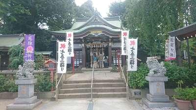 川越八幡宮の本殿