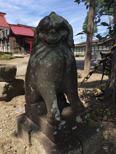 羽黒神社の狛犬