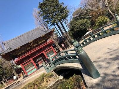 根津神社の山門