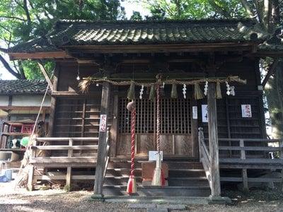 宮城県鹿島神社の本殿