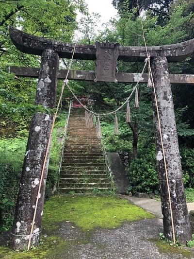 長崎県箱崎八幡神社の鳥居