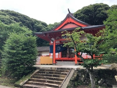 長崎県箱崎八幡神社の本殿