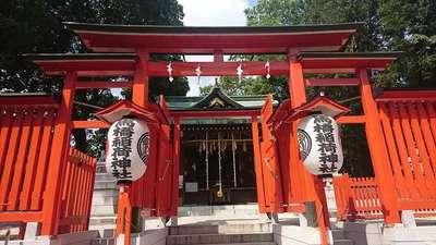 東京都馬橋稲荷神社の鳥居