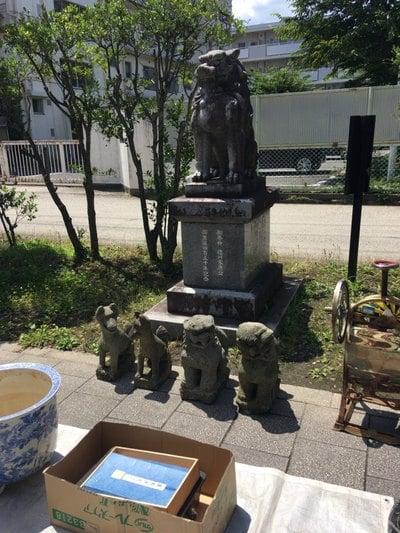 仙台東照宮の狛犬
