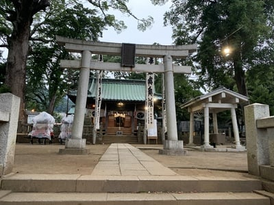 静岡県多賀神社の鳥居