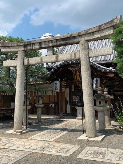 京都府護浄院の鳥居