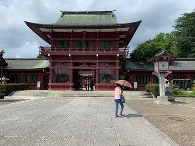 笠間稲荷神社の山門