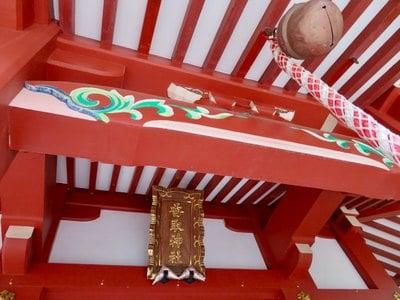 香取神社の本殿