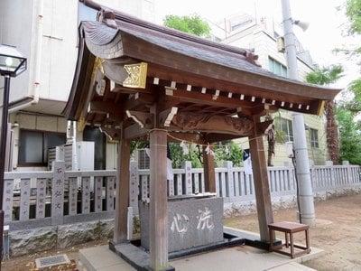 香取神社の手水