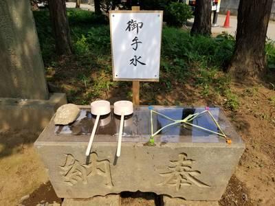 香取社(伏木香取神社)の手水