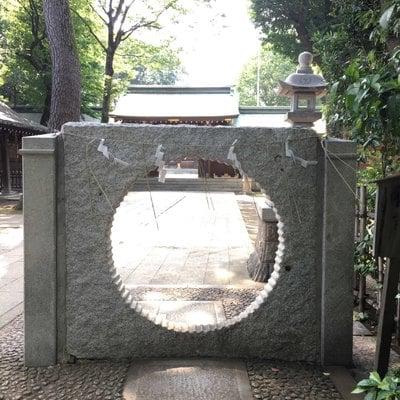 東京都荻窪八幡神社の山門