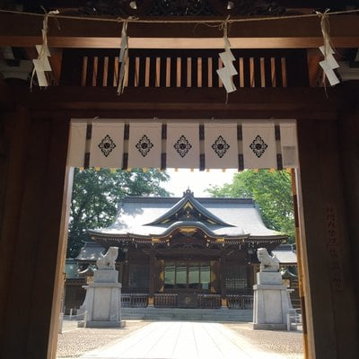東京都荻窪八幡神社の本殿