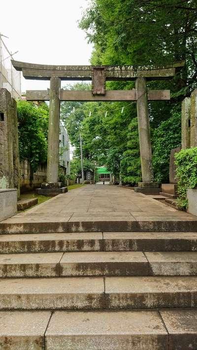 北野神社の鳥居