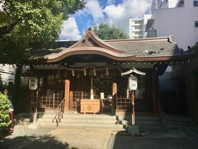サムハラ神社の本殿