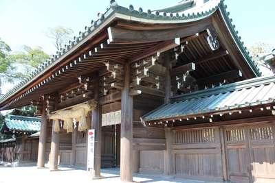 静岡県三嶋大社の山門