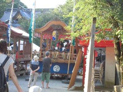鈴鹿明神社のお祭り